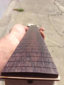 Beautiful fretboard shaping