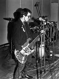 Klaus Flouride playing his original bass