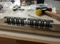 The Bass pickups ready for winding